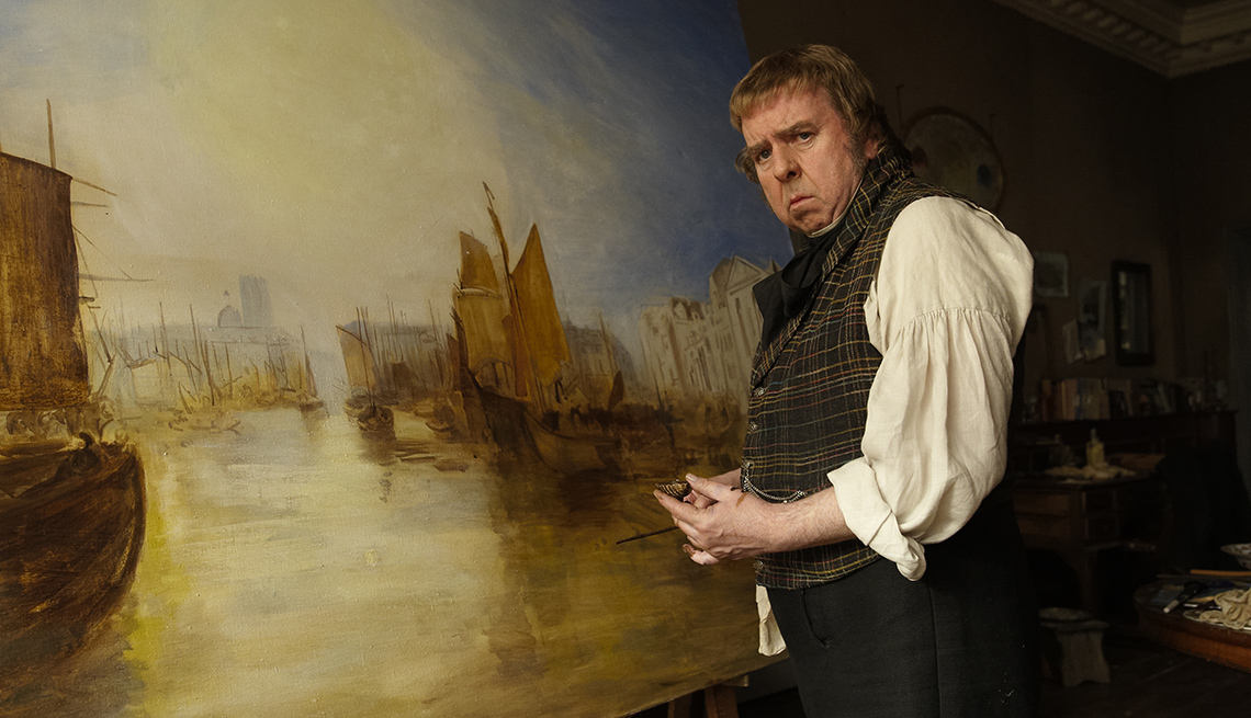 Mr Turner, Movie, Actor, Timothy Spall, J.M.W Turner, Artist, Painter, 2014 Holiday Movie Preview