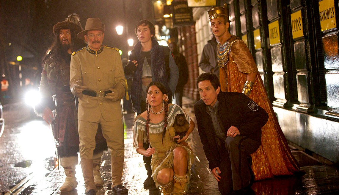 Night At The Museum 3, Movie, Robin Williams, Ben Stiller, Actors, 2014 Holiday Movie Preview