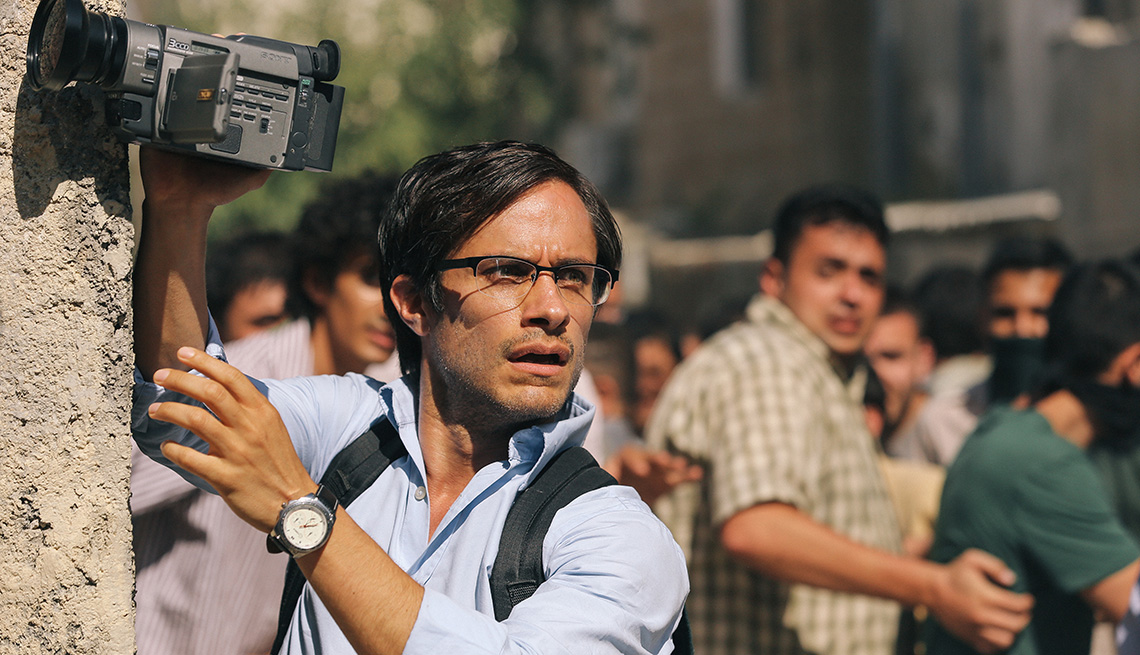 Rosewater Movie, Gael Garcia Bernal, Actor, 2014 Holiday Movie Preview