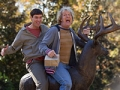 Jim Carrey y Jeff Daniels en una escena de 'Dumb and Dumber To'.