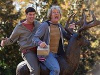 Jim Carrey y Jeff Daniels en una escena de 'Dumb and Dumber To'.