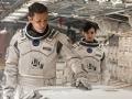 Matthew McConaughey, Anne Hathaway en una escena de Interstellar
