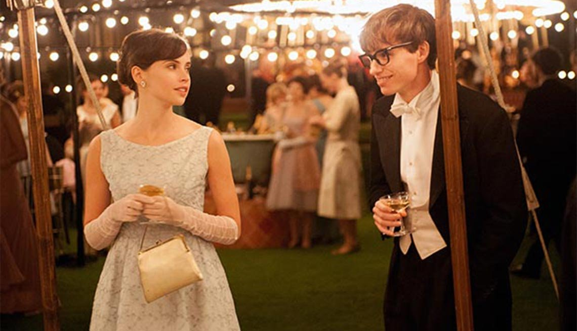 The Theory of Everything, Felicity Jones, Eddie Redmayne, movie review