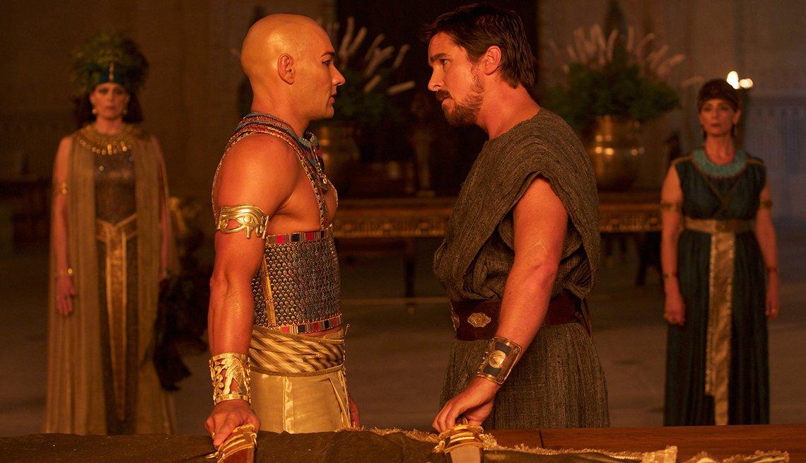 Christian Bale, Joel Edgerton, Exodus: Gods and Kings, movie review