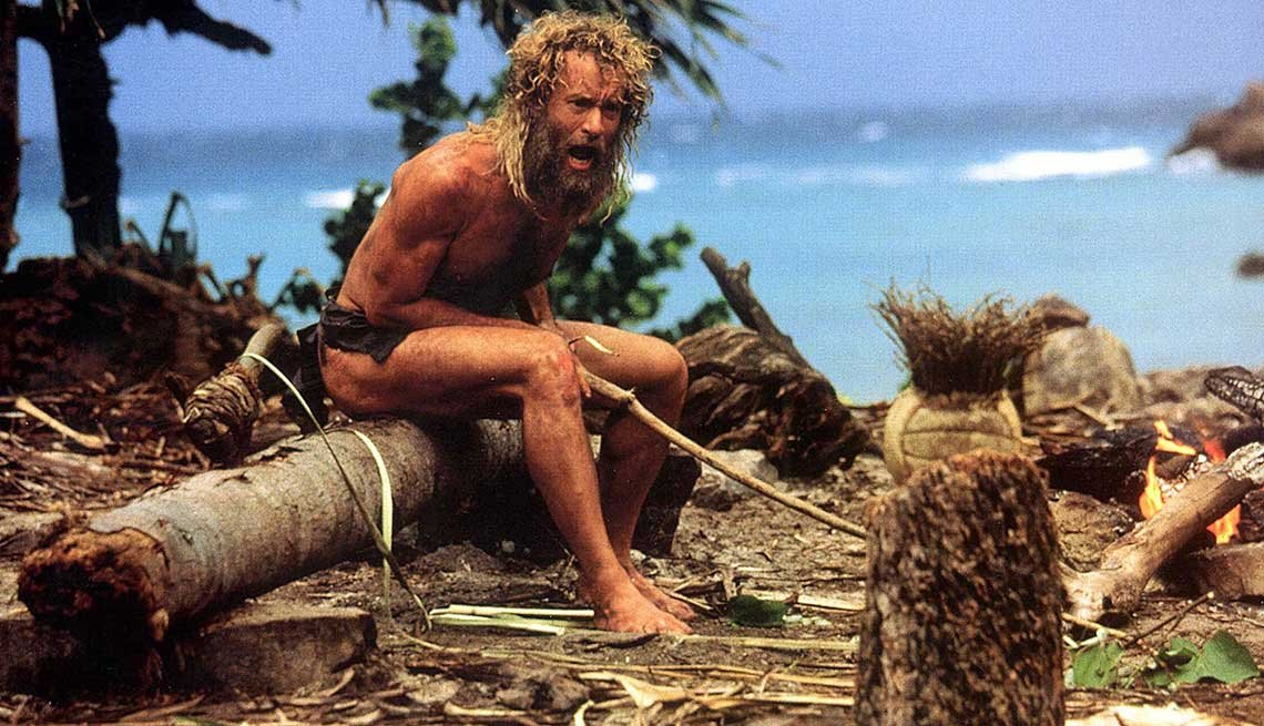 Best Beach Movies, Cast Away, Tom Hanks