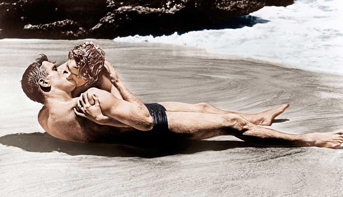 Best Beach Movies, From Here to Eternity, Burt Lancaster, Deborah Kerr