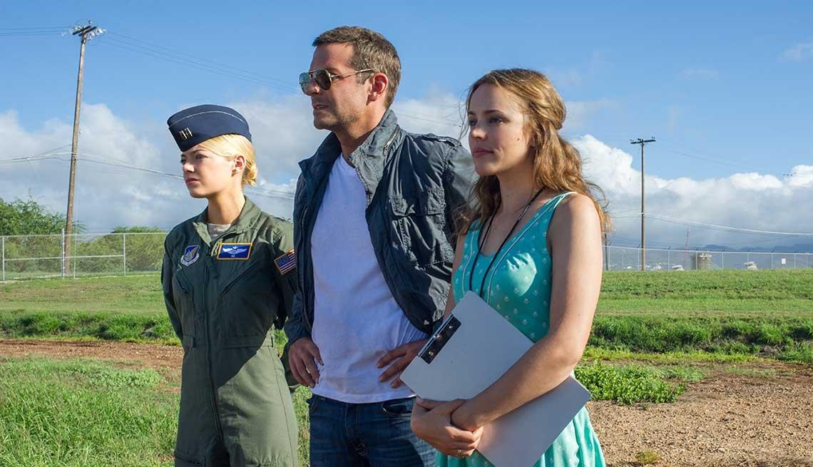 Aloha, Bradley Cooper, Emma Stone, Rachel McAdams