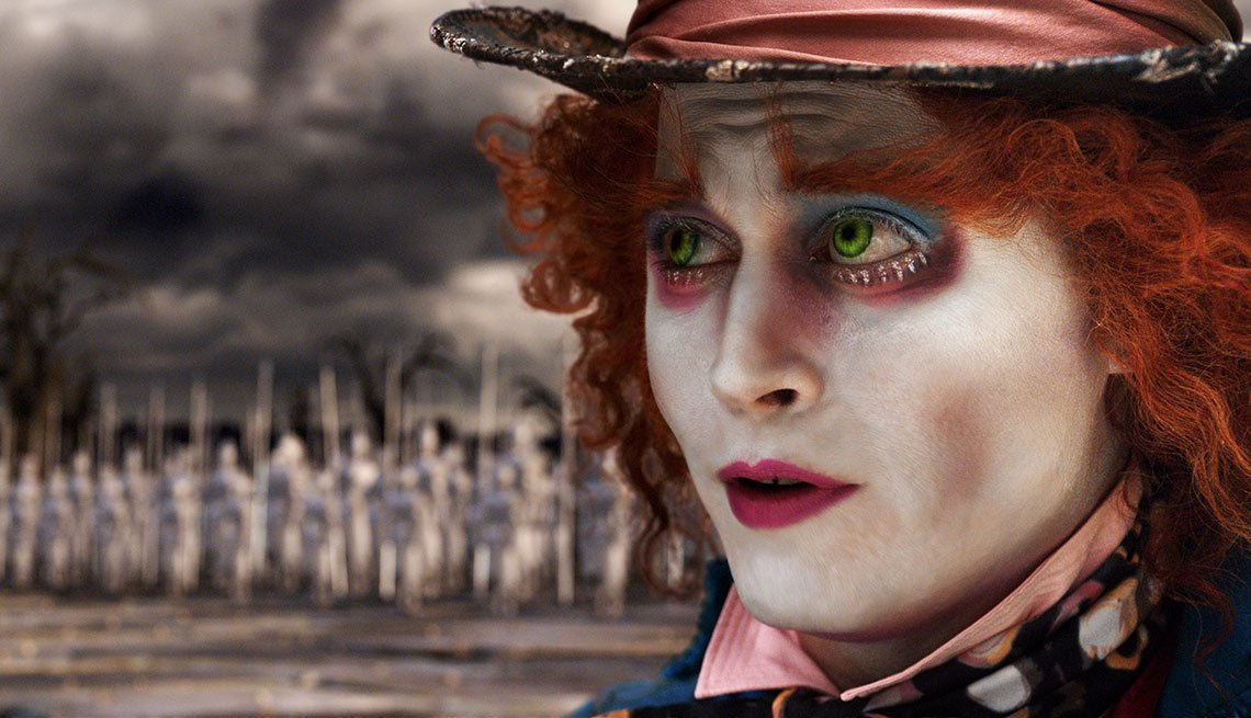 Alice in Wonderland - Personajes increíbles de Johnny Depp