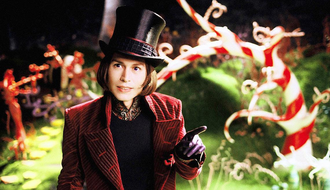 Charlie y la fábrica de chocolate - Personajes increíbles de Johnny Depp