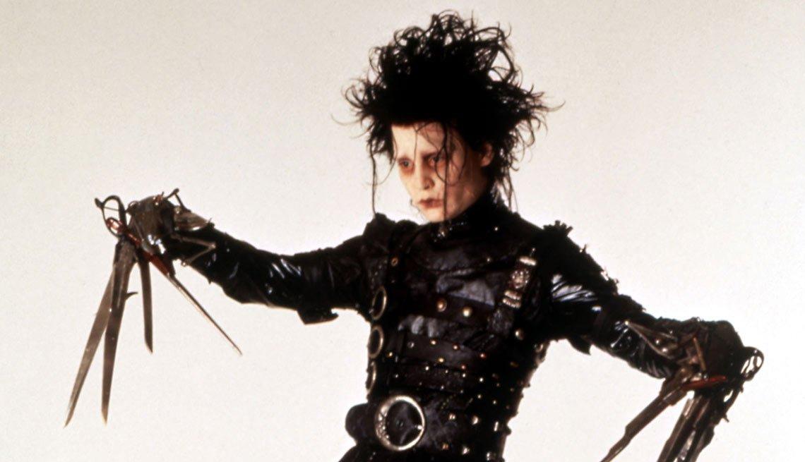 Edward Scissorhands - Personajes increíbles de Johnny Depp