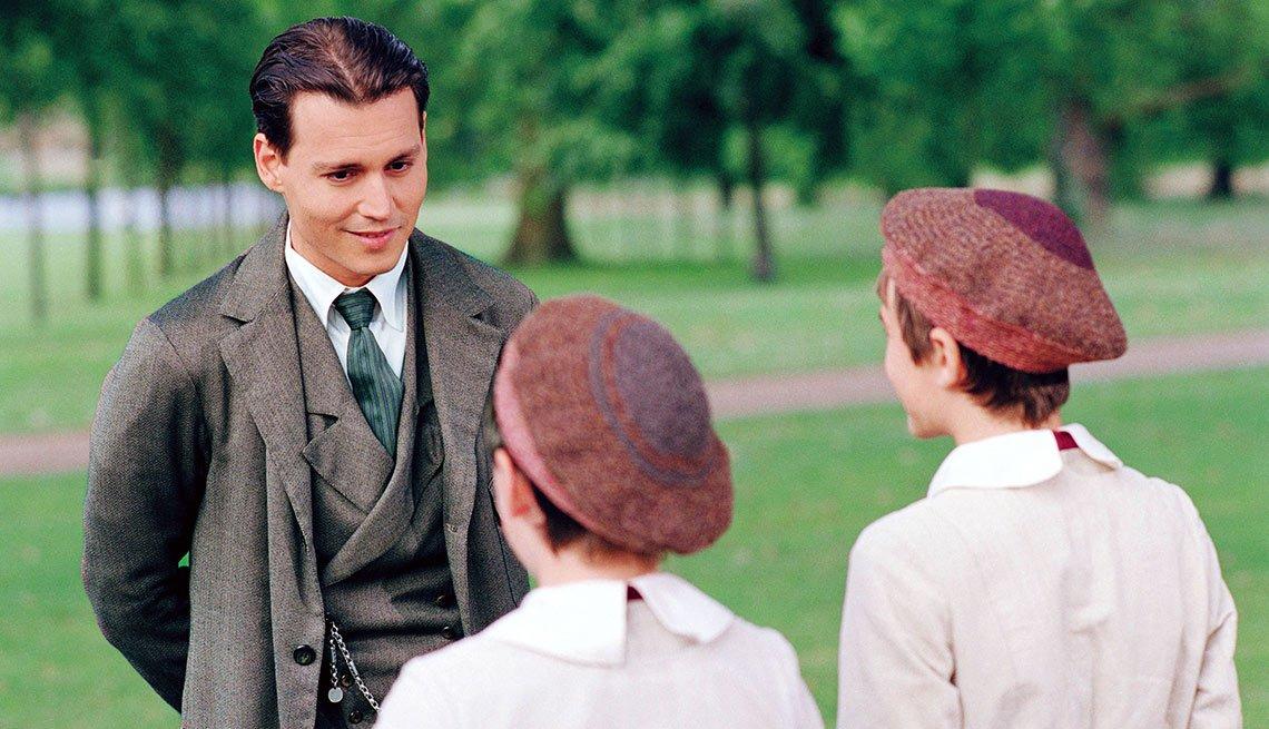 Finding Neverland - Personajes increíbles de Johnny Depp