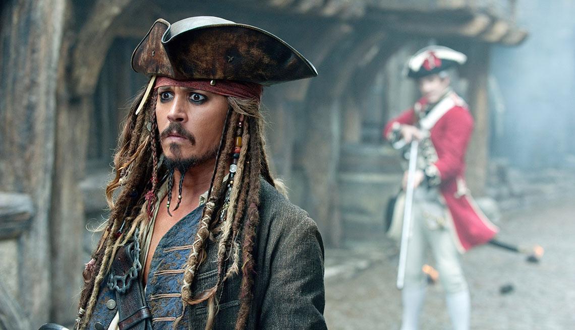 Depp-O-Meter, Pirates of the Caribbean