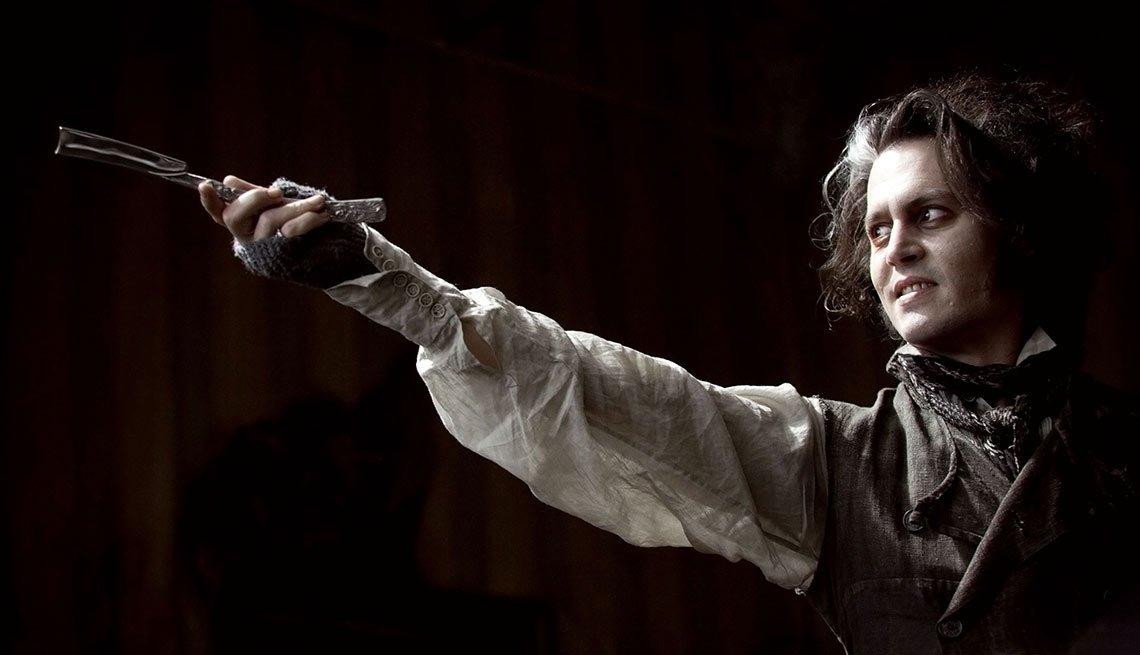Sweeney Todd, Sweeney Todd: The Demon Barber of Fleet Street - Personajes increíbles de Johnny Depp