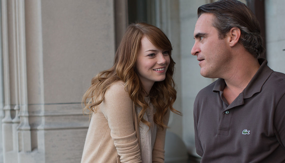 Emma Stone, Joaquin Phoenix, Irrational Man, movie