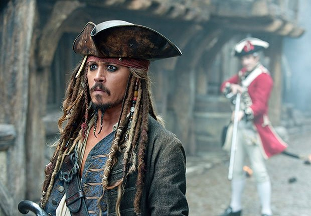 Piratas del Caribe - Personajes increíbles de Johnny Depp