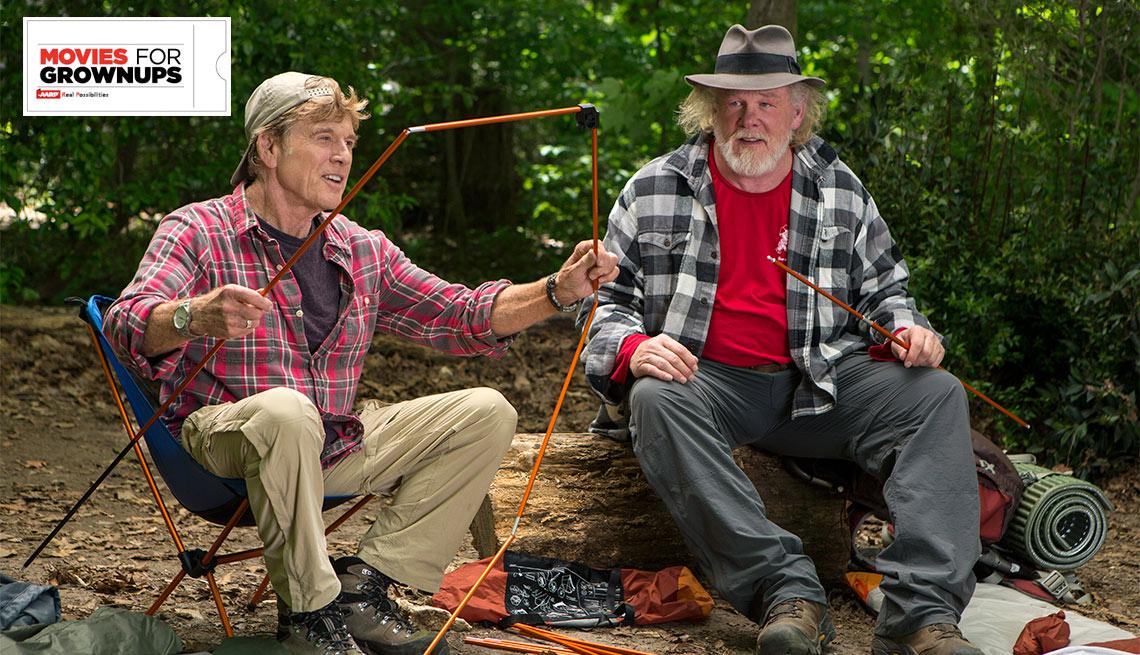 Walk In The Woods With Robert Redford Nick Nolte