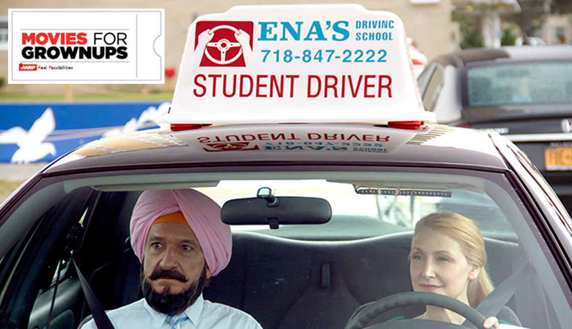 LEARNING TO DRIVE, Ben Kingsley, Patricia Clarkson