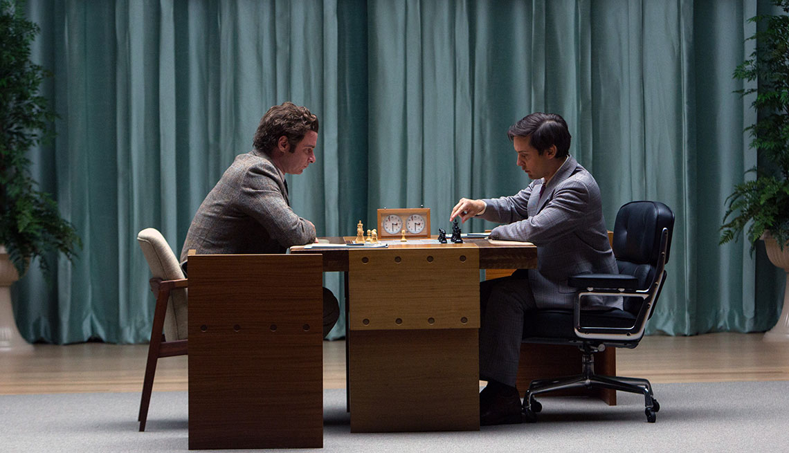 Pawn Sacrifice, Liev Schreiber, Tobey Maguire, Movies for Grownups