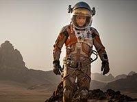 Matt Damon en una escena de la película The Martian.