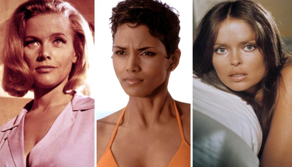 Bond Girls, Honor Blackman, Halle Berry, Barbara Bach