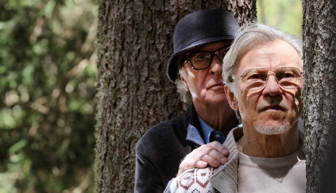 Michael Caine y Harvey Keitel en una escena de la películla Youth