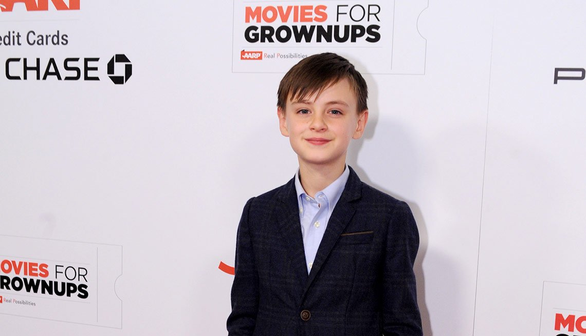 Jaeden Lieberher is seen at AARP the Magazine's