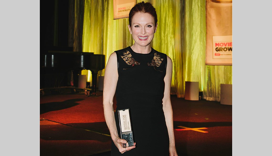 Julianne Moore AARP's Movies for Grownups 2015 Gala