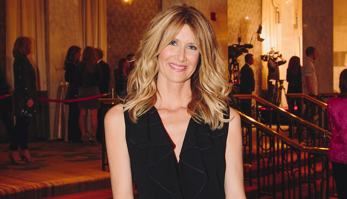 Laura Dern at AARP's Movies for Grownups 2015 Gala