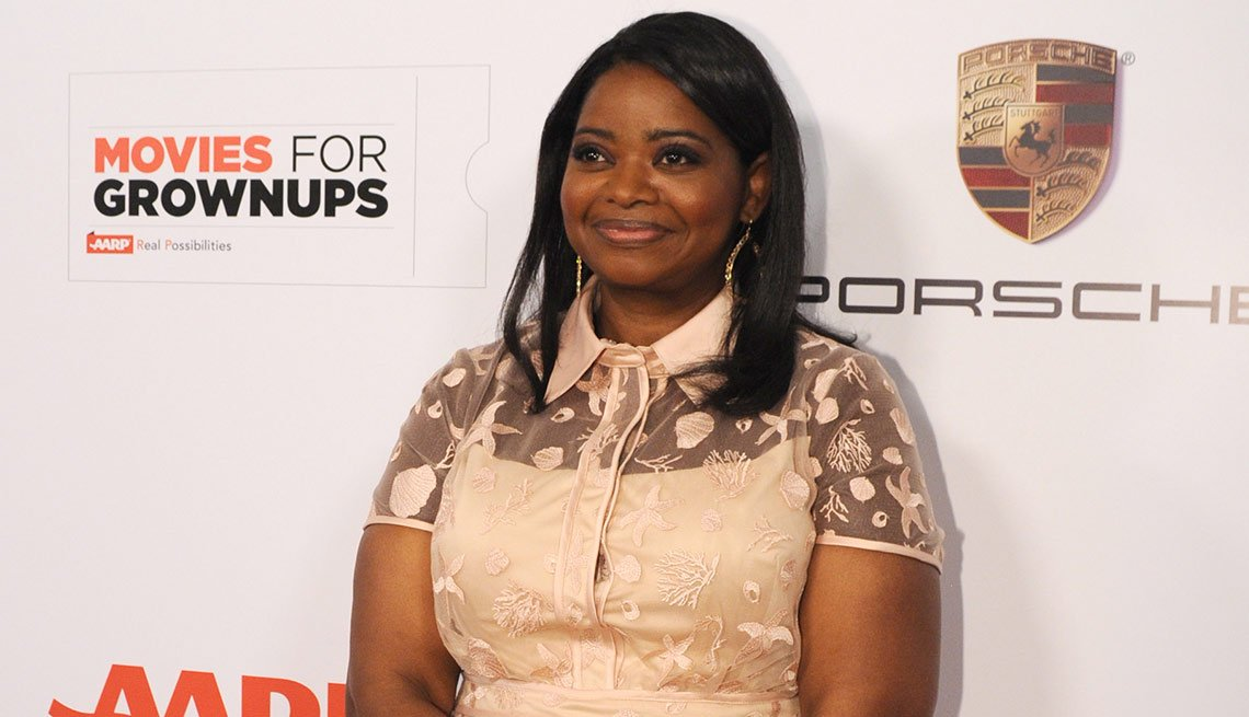 Octavia Spencer is seen at AARP the Magazine's