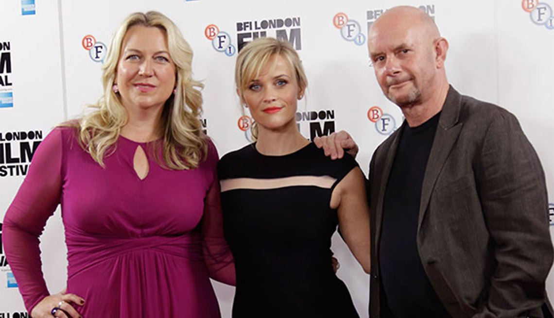 2015 Movies for Grownups Award Winners, Cheryl Strayed, Reese Witherspoon, Nick Hornby