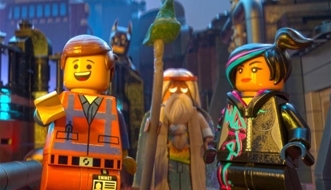 2015 Movies for Grownups Award Winners, The Lego Movie