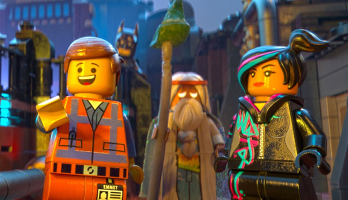 2015 Movies for Grownups Award Winners, The Lego Movie
