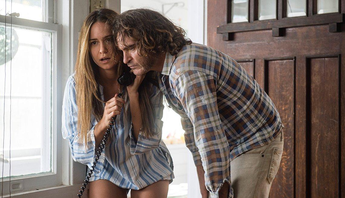 Inherent Vice, movie review, Katherine Waterston, Joaquin Phoenix