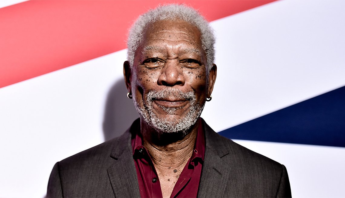 Movies for Grownups Career Achievement Hall of Fame, Morgan Freeman