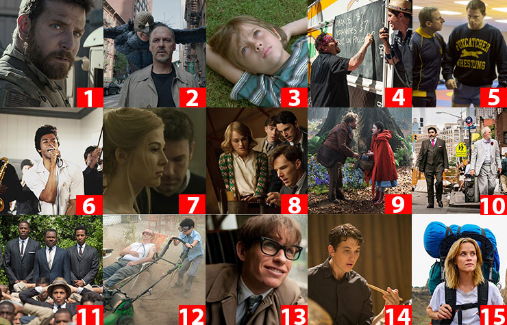Reader's Choice -- 2014 Best Movie for Grownups