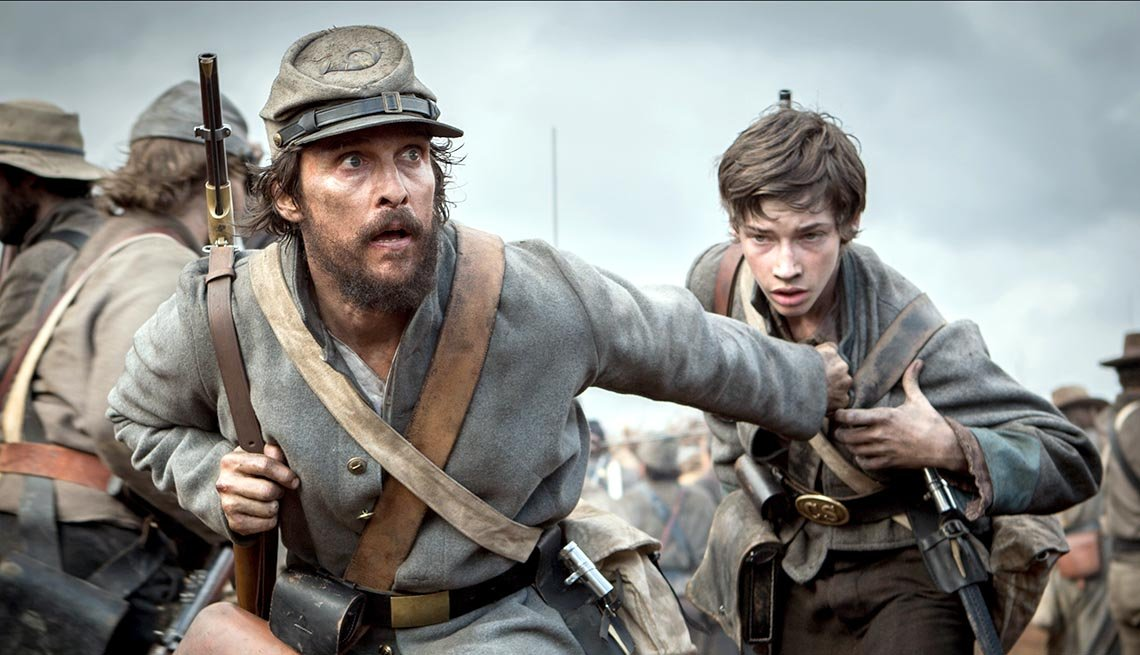 Escena de la película The Free State of Jones