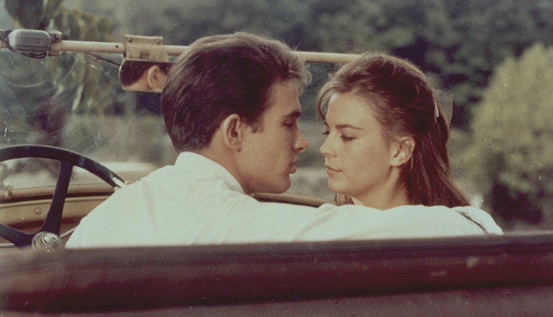 Warren Beatty and Natalie Wood in 'Splendor in the Grass'