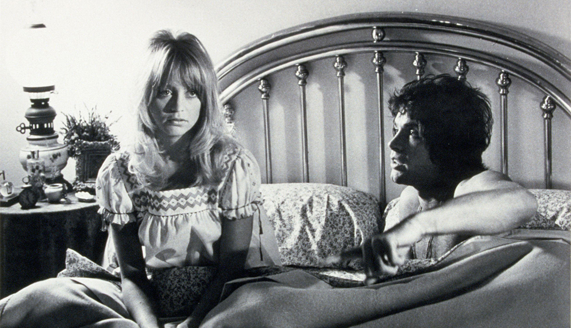Goldie Hawn and Warren Beatty in 'Shampoo'