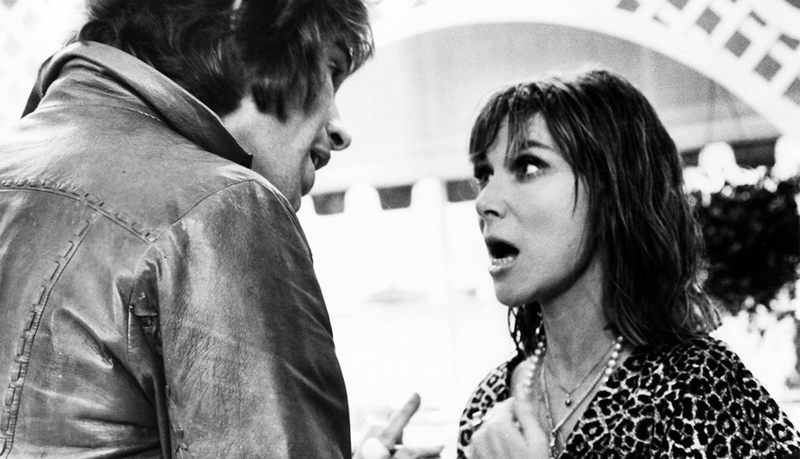 Warren Beatty and Lee Grant in 'Shampoo'