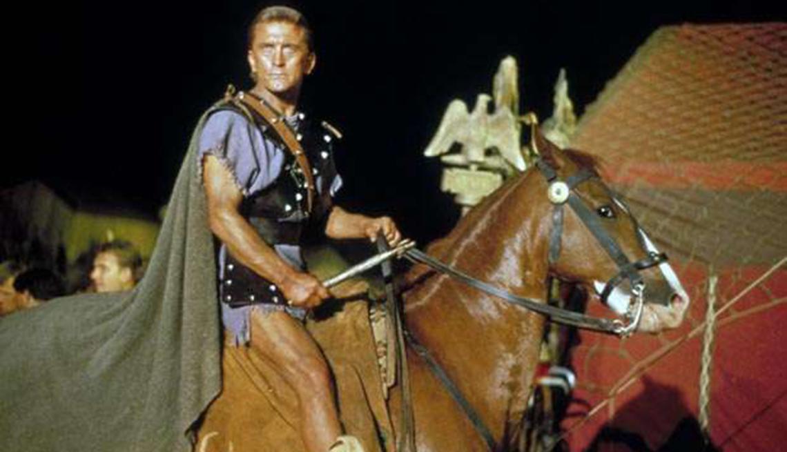 Las mejores películas de acción para adultos - 'Spartacus' (1960)