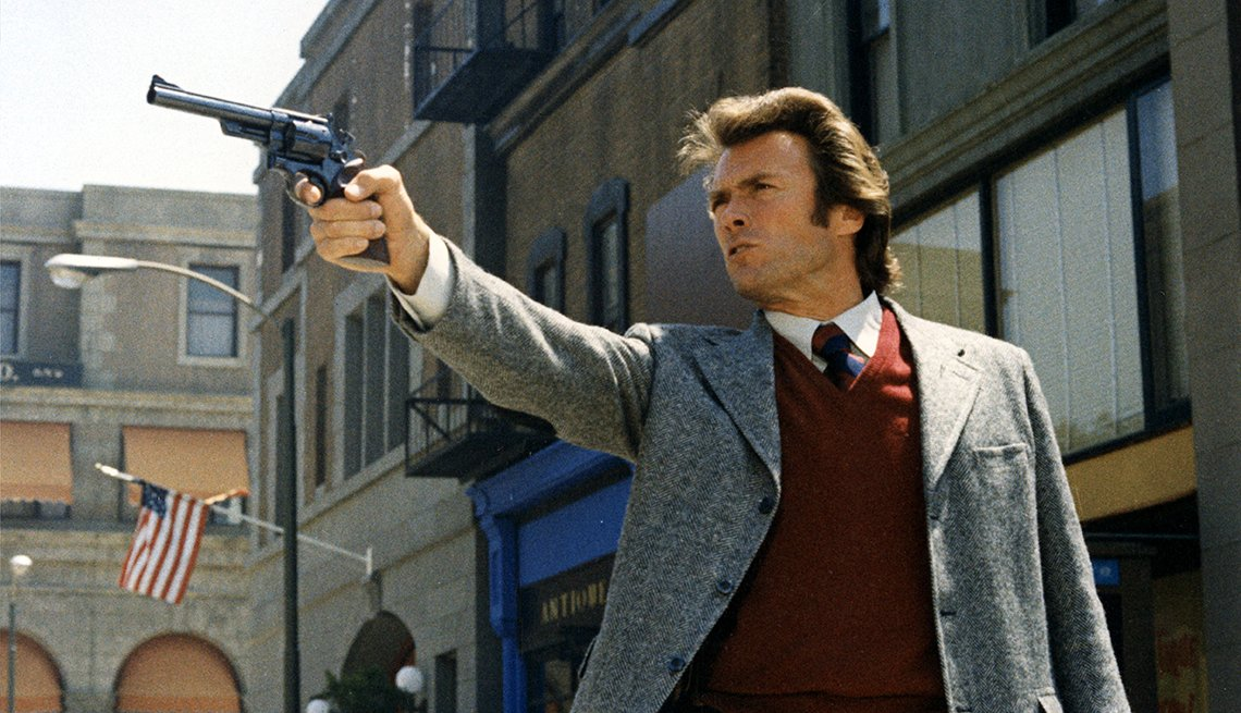 Dirty Harry Movie Still, Clint Eastwood, Actor, Readers Choice: The Essential Boomer Movies