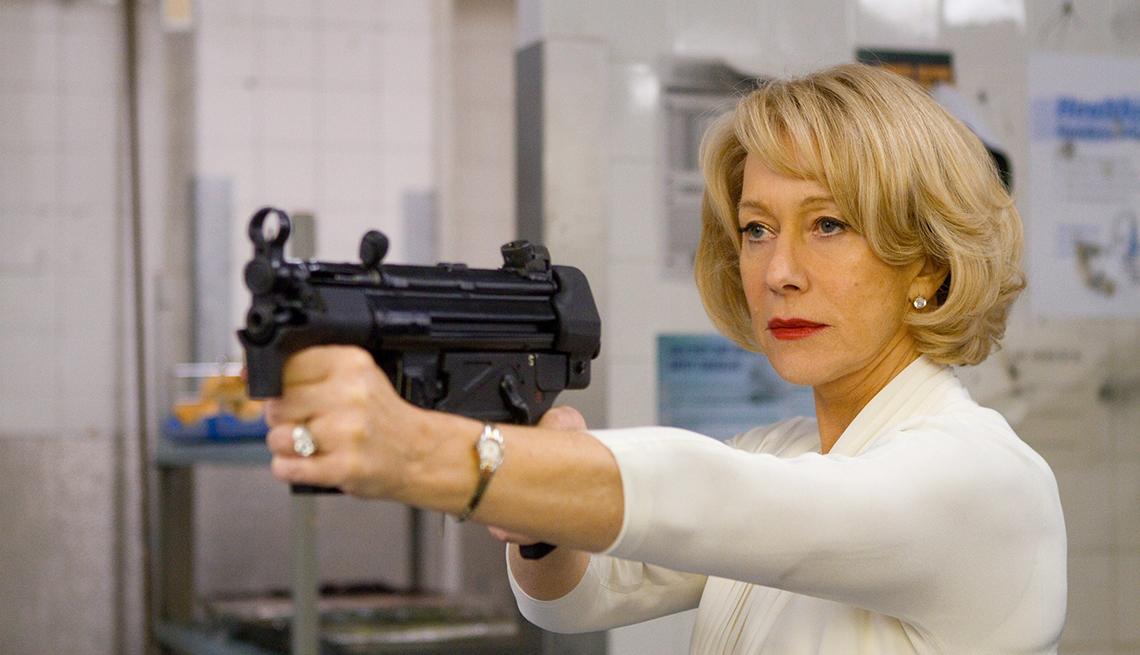 Helen Mirren en una de la película Red