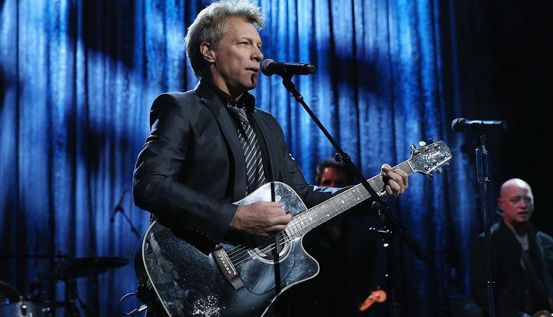 Famosos de Nueva Jersey - Jon Bon Jovi