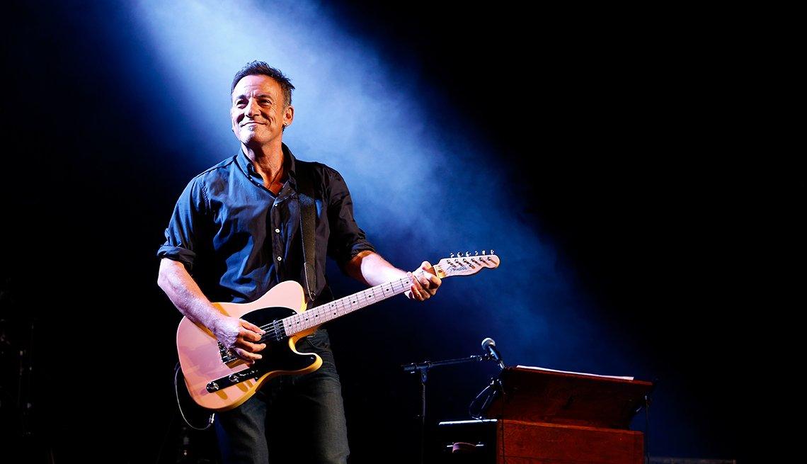 Famosos de Nueva Jersey - Bruce Springsteen