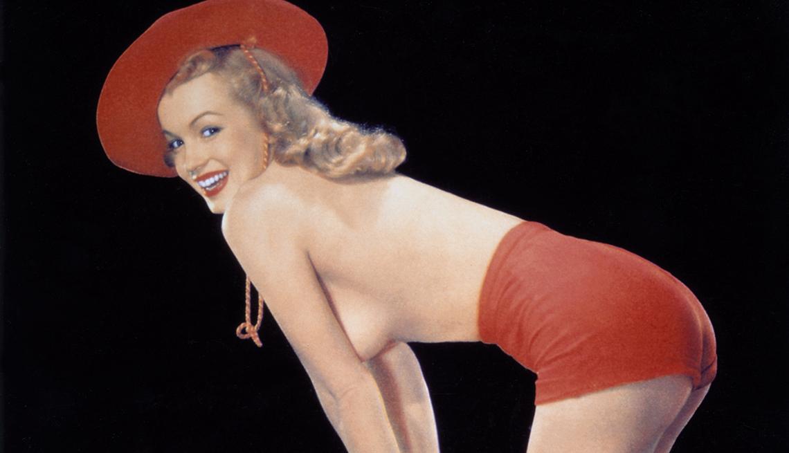 Marilyn Monroe 50 años tras su muerte - Desplegable de la revista Playboy (1953)