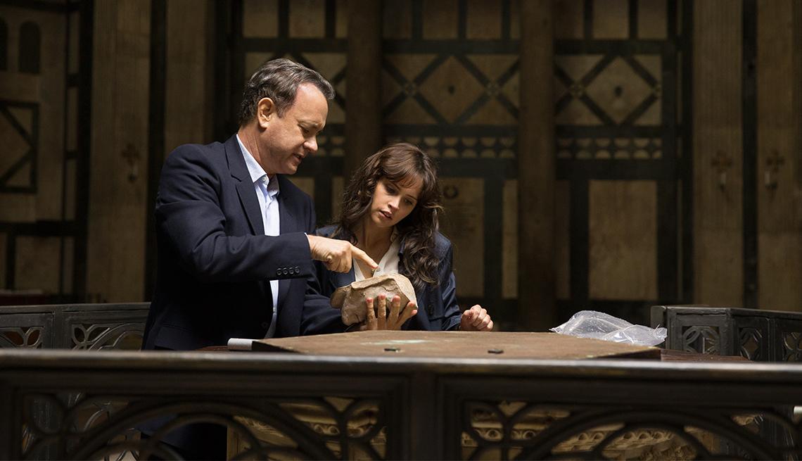 Tom Hanks and Felicity Jones in 'Inferno'