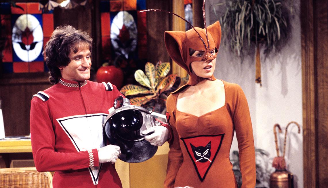 10 personajes inolvidables de Robin Williams - 'Mork & Mindy,' 1978 to 1982