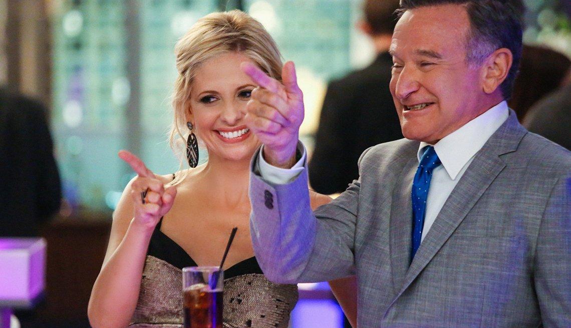 10 personajes inolvidables de Robin Williams - 'The Crazy Ones,' 2013-2014