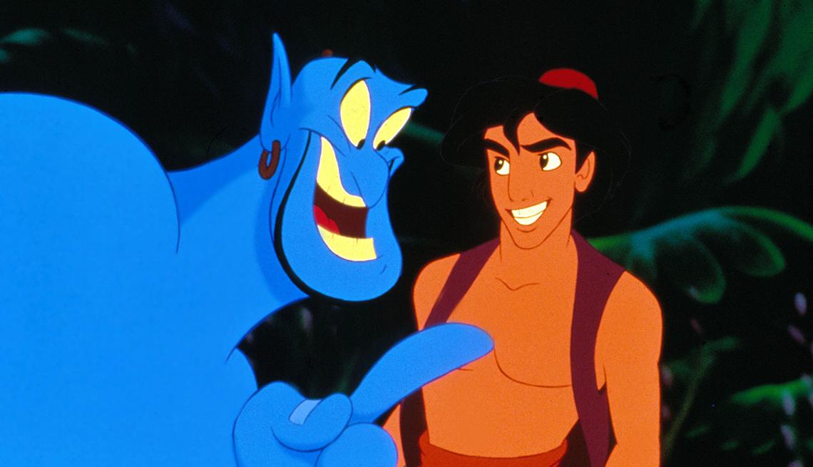 10 personajes inolvidables de Robin Williams - 'Aladdin,' 1992