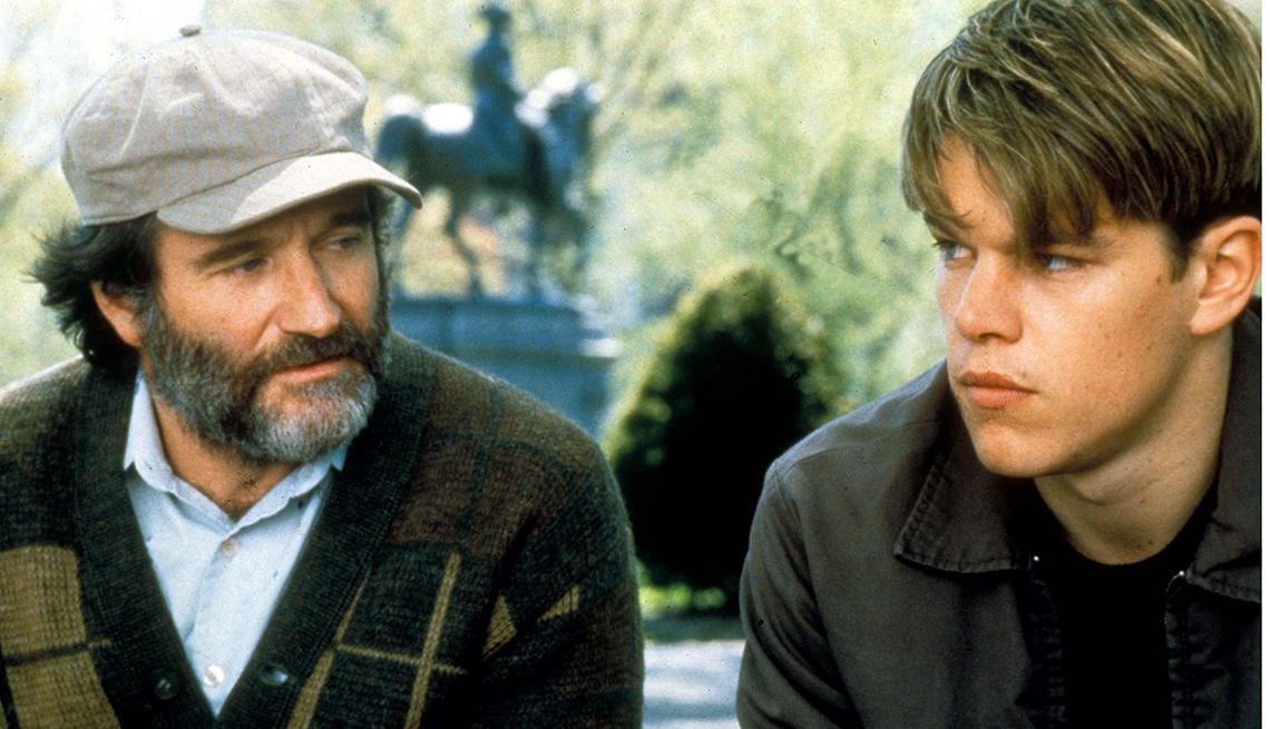 10 personajes inolvidables de Robin Williams - 'Good Will Hunting' (El indomable Will Hunting) 1997